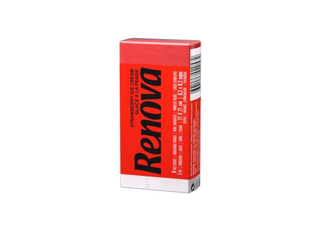papírové kapesníčky do kapsy červené v balíčku