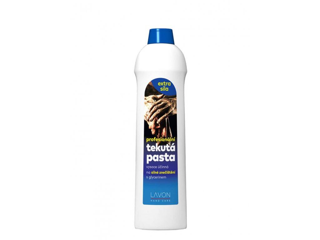 profeionální tekutá pasta na ruce