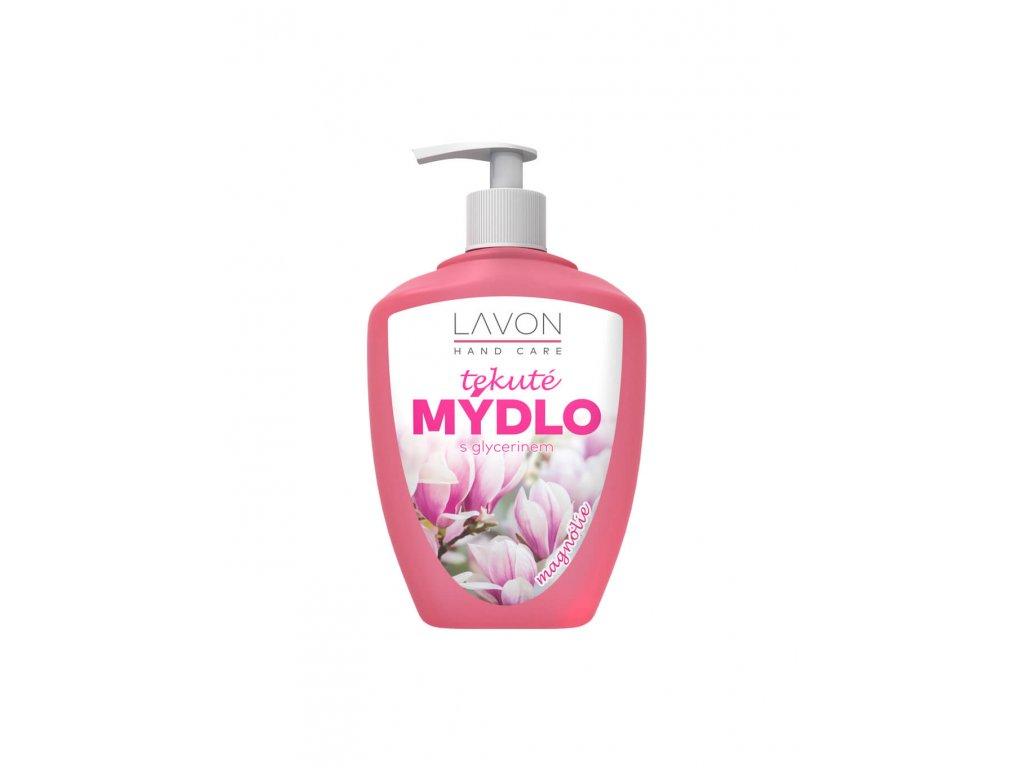 tekuté mýdlo na ruce s glycerinem vůně magnólie