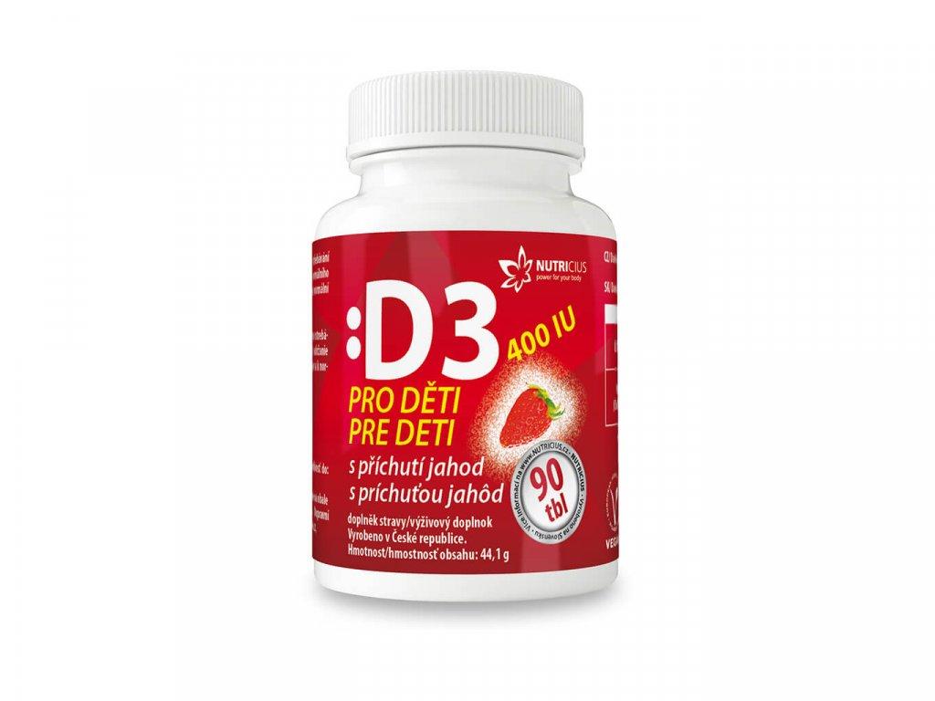 nutricius vitamín D D3 pro děti