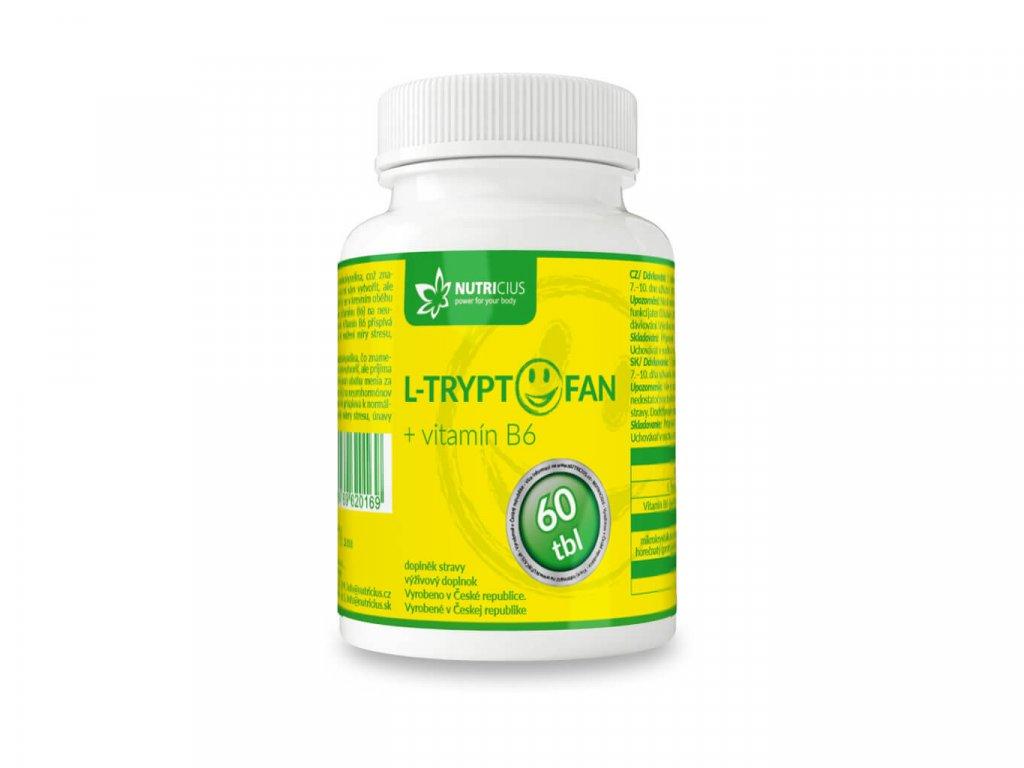 nutricius l tryptofan + vitamín B6 60 tablet