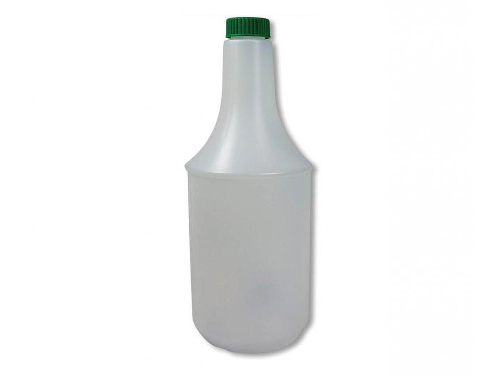 plastová láhev k rozprašovací hlavicy