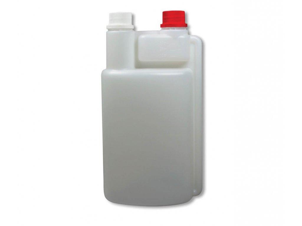 Unigloves dávkovací láhev průhledná s červeným víčkem