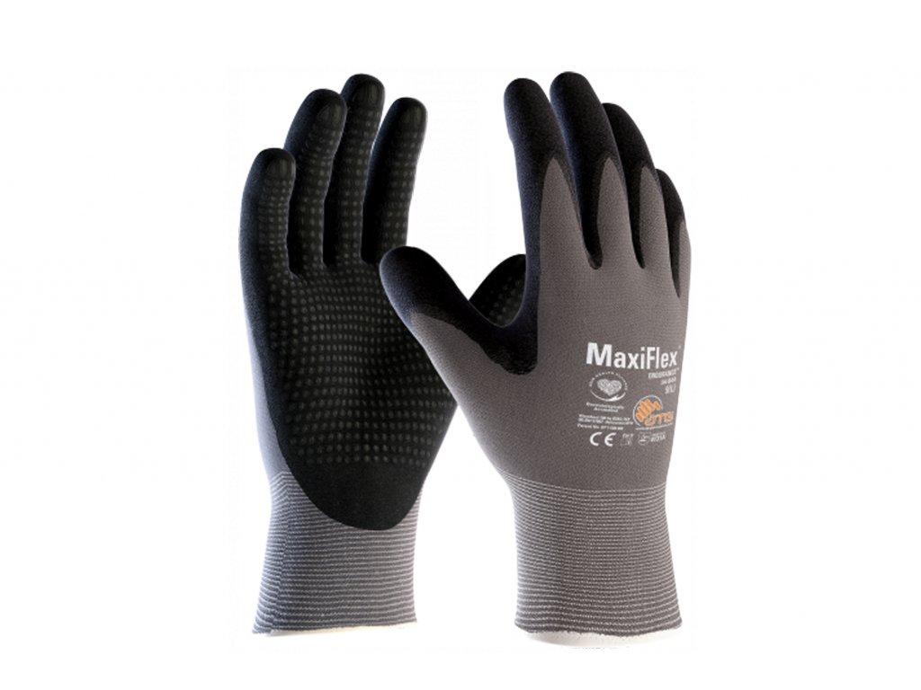 Pracovní rukavice MaxiFlex Endurance šedivé