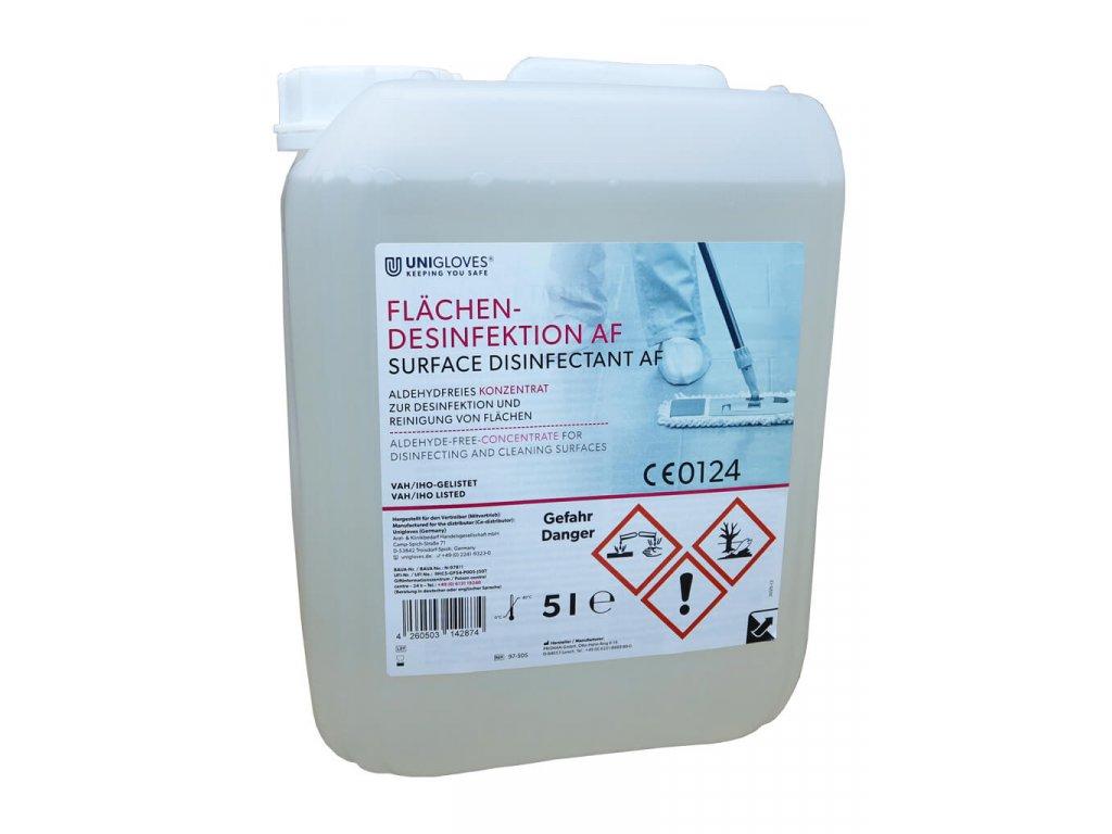 97 505 unigloves dezinfekce a čištění na povrchy a podlahy koncentrát 5 litrů