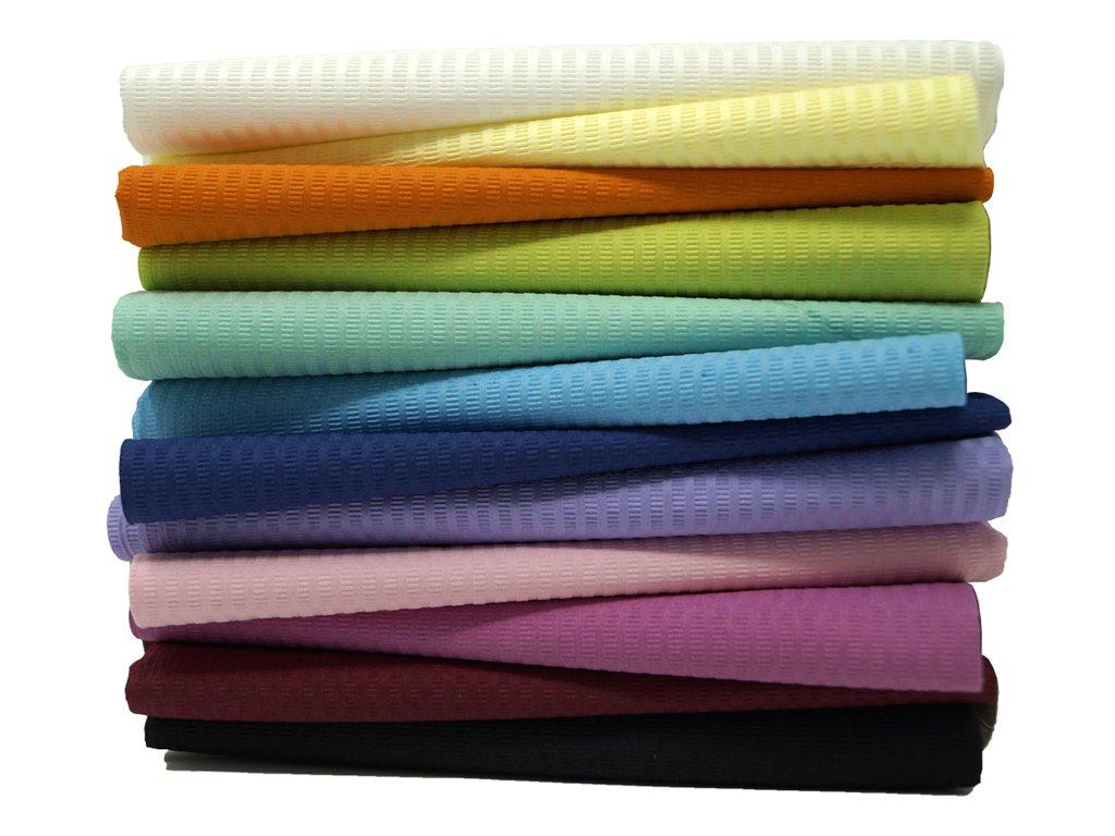 dentální ubrousky pracovní podložky barevné