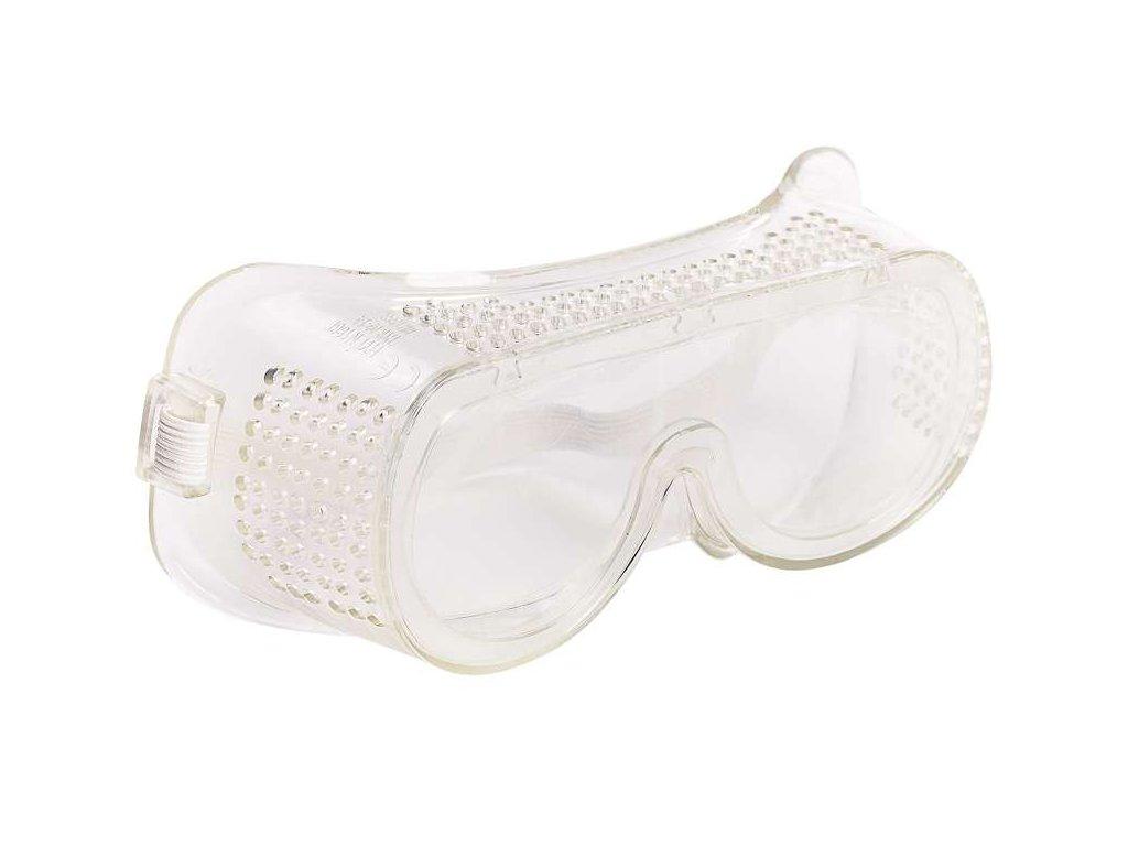 uzavřené ochranné brýle čiré vhodné pro současné nošení brýlí