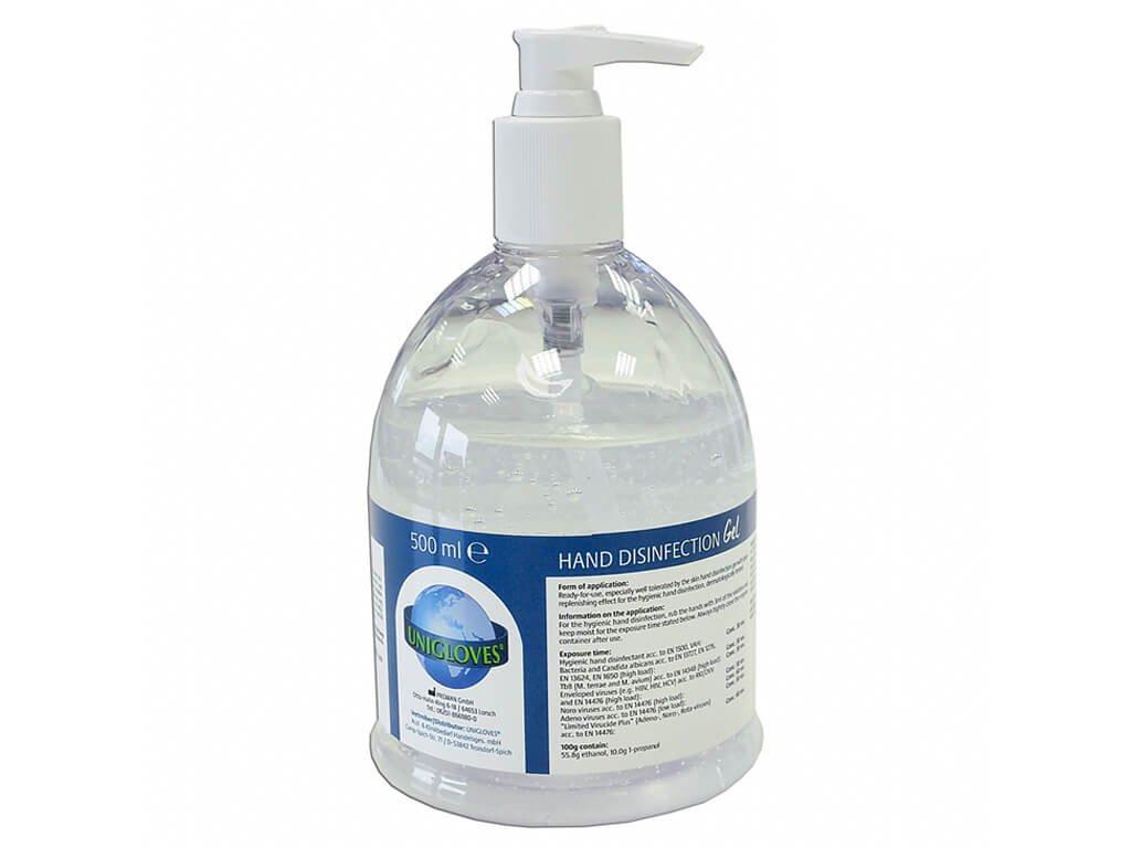 dezinfekce gel