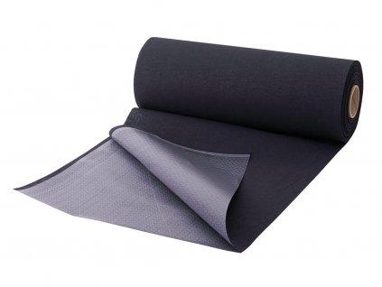 černá absorpční podložka v roli k ochraně lůžka