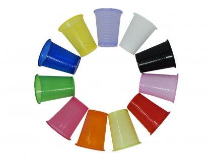 plastové kelímky barevné