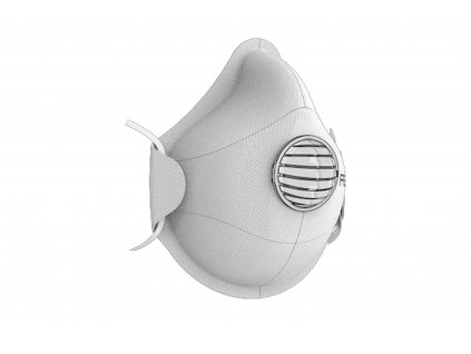 respirator FFP2 refil2 bílý s ventilkem