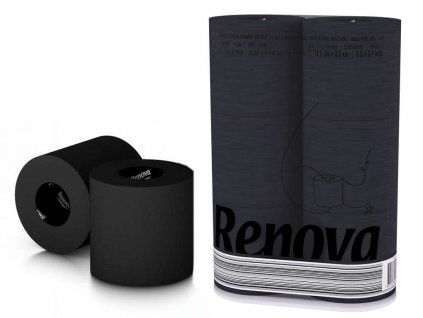 luxusní černý toaletní papír