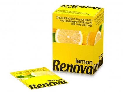 vlhčené ubrousky citron