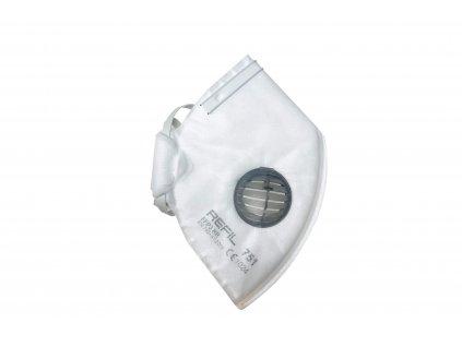 respirátor FFP3 skládaný s vydechovacím ventilem