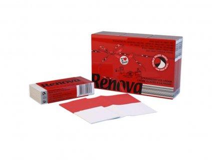 papírové kapesníčky do kapsy červené balíček