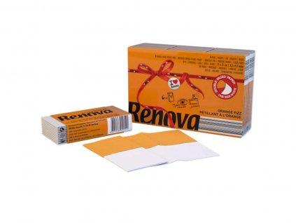 papírové kapesníčky do kapsy oranžové balíček