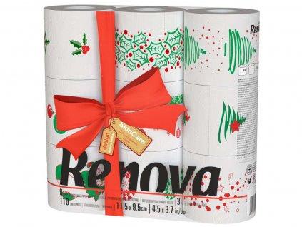 toaletní papír vánoční edice