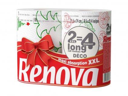 kuchyňské ubrousky vánoční edice 2 kusy v roli
