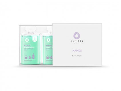 dutybox koncentrát pěnové mýdlo na ruce máta a šalvěj