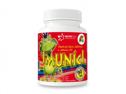 nutricius imuníci multivitamíny pro děti s vitamínem D a hlívou ústřičnou