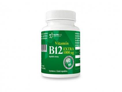nutricius vitamín B12 90tbl.