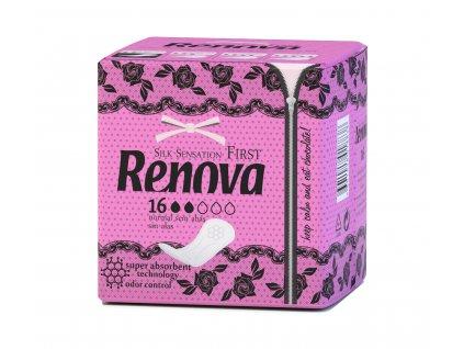 hygienické vložky bez křidélek extra absorpční v růžovém obalu