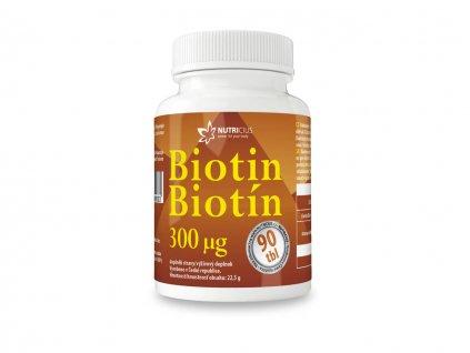 nutricius BIOTIN 300 mcg 90 tablet