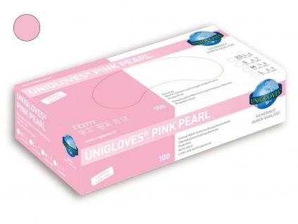 unigloves pink pearl nitril