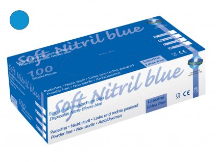 Soft Nitril Blue 100er Box