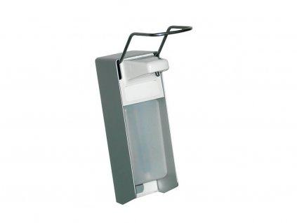 univerzální hliníkový pákový dávkovač na dezinfekci a mýdlo