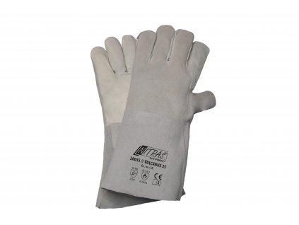 Schweißerhandschuhe, 5 Finger 602510