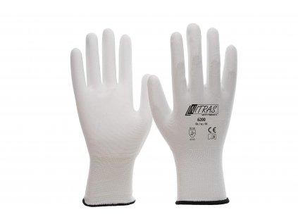 Nylon Handschuhe weiß 606506