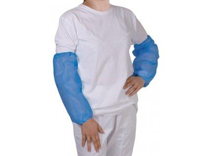 unigloves rukávníky návleky na ruce modré na postavě