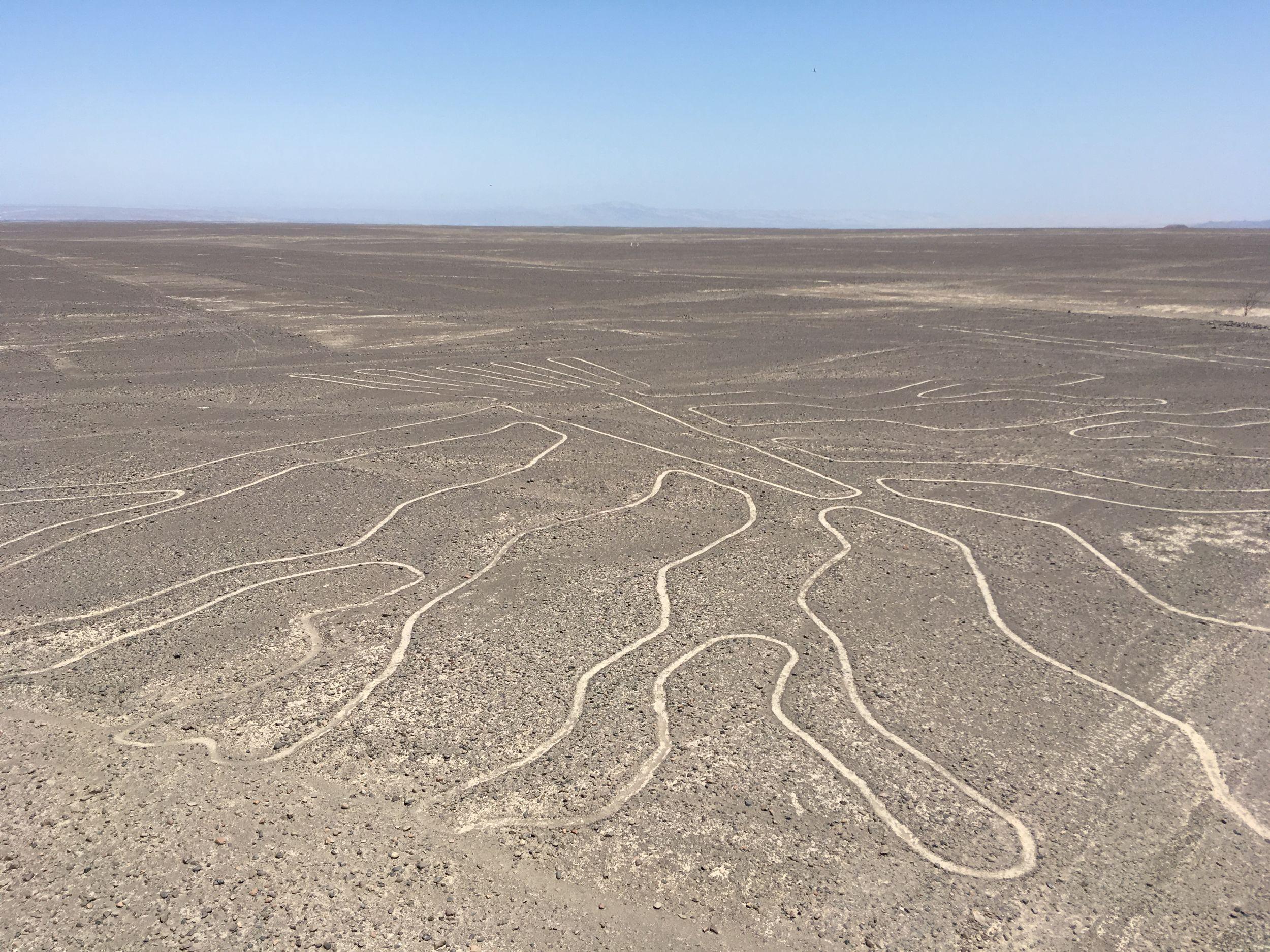 Záhadné obrazce na planině Nazca