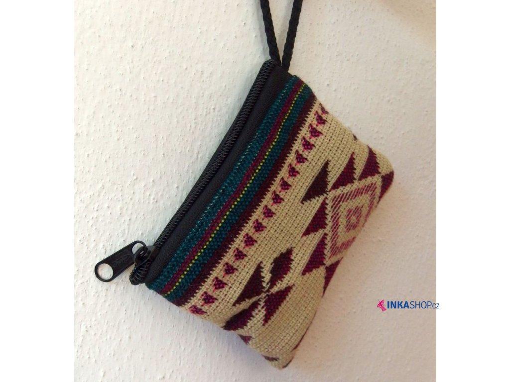 Peněženka/kapsička z Ekvádoru