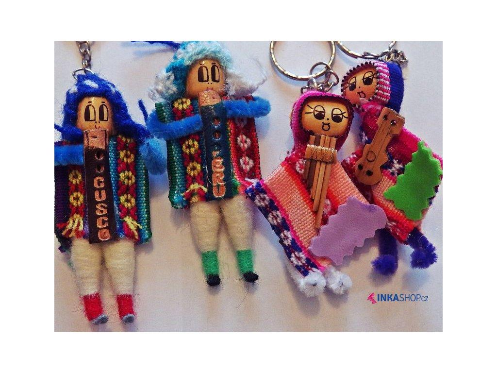 Klíčenka - indiánek z Peru