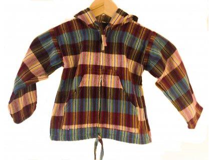 Dětská bunda z Jižní Ameriky