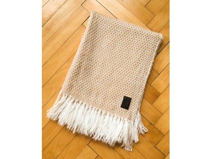 Široká pletená šála - výprodej!
