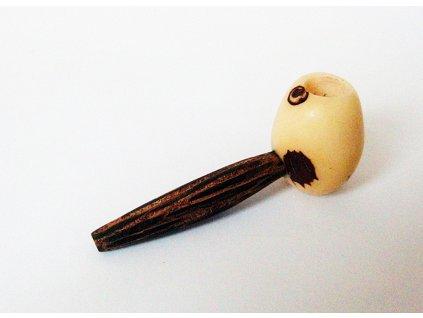 Dýmka z tagua