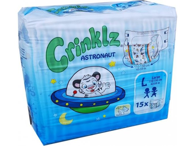 CrinklZ Astronaut - L (15ks)