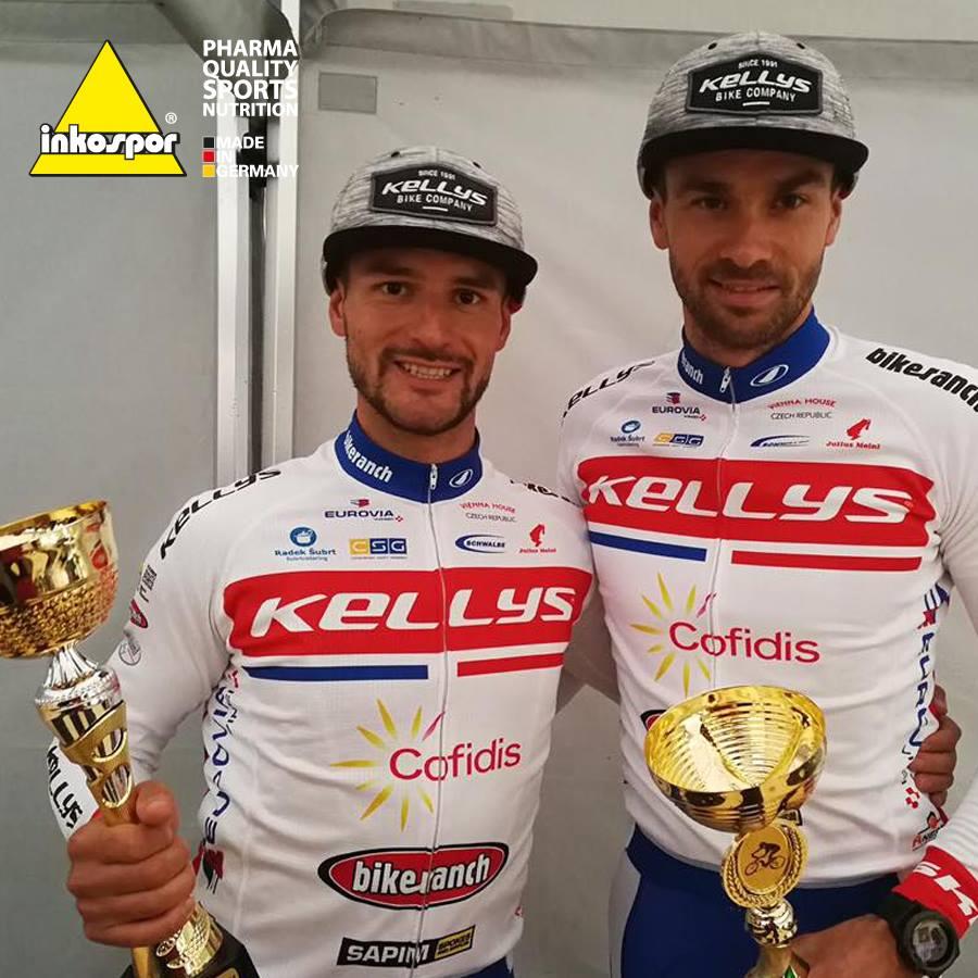Marek Rachfuss a Michal Bubílek obhájili bednu v českém poháru horských kol v maratonu