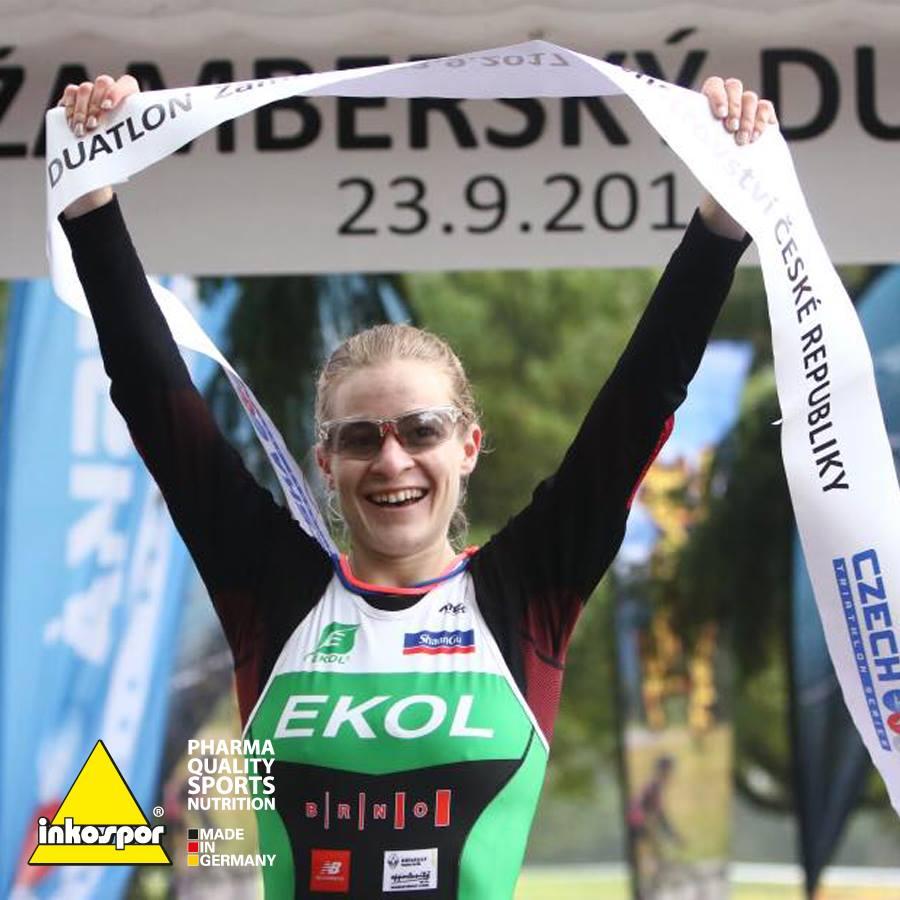 Pavlína Poláčková vyhrála mistrovství ČR v Duatlonu