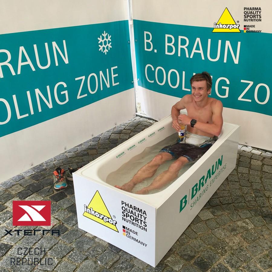 Inkospor Cooling zone na Xterra 2019