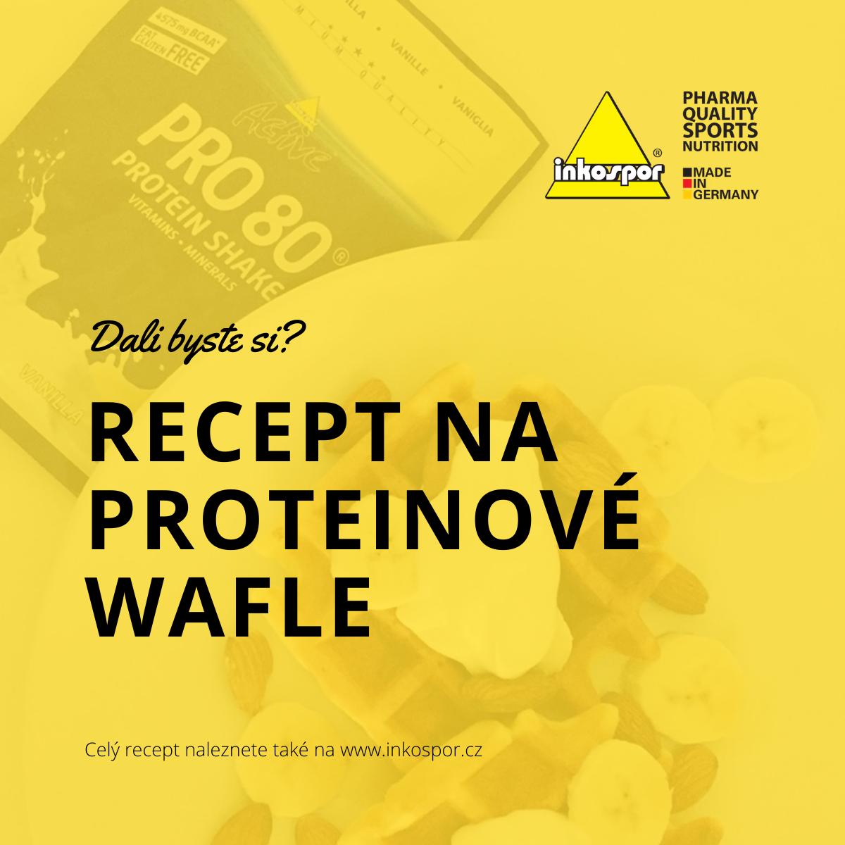 Recept | Proteinové wafle