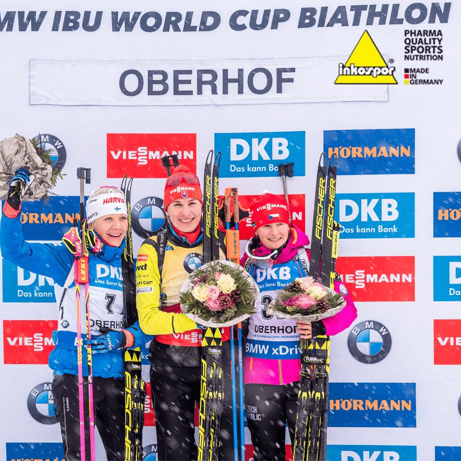 Veronika Vítková rozjíždí sezónu bronzovou medailí