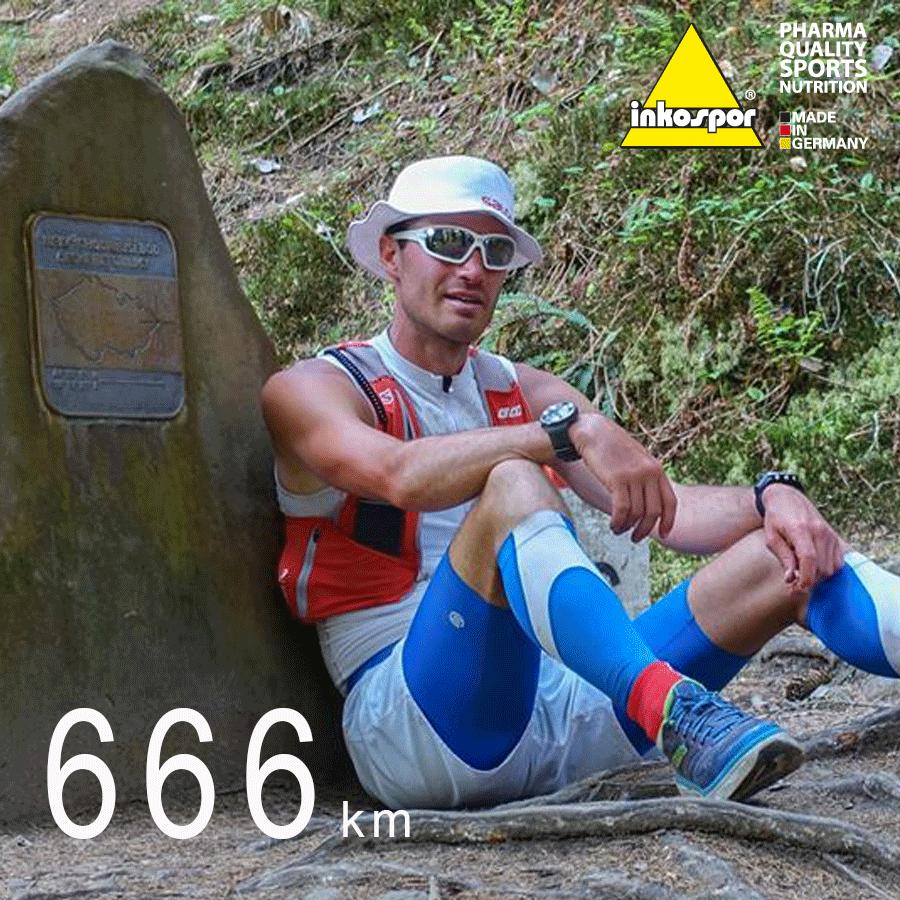 Štěpán Dvořák to dokázal a uběhl 666 km.