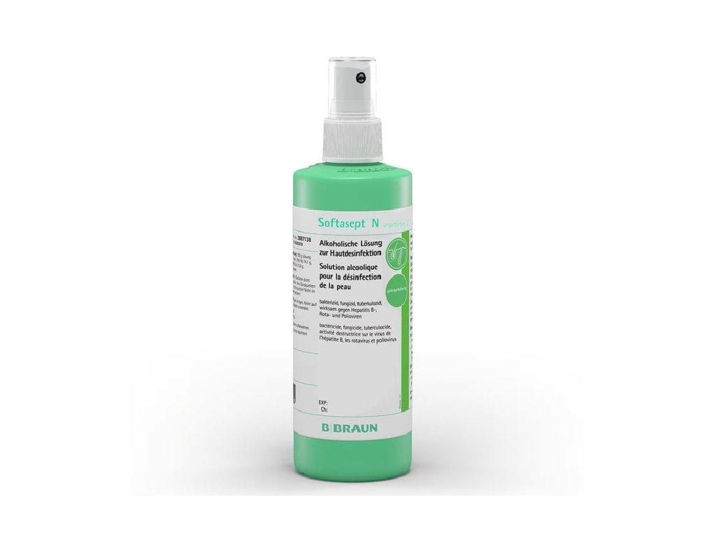 B.Braun dezinfekce Softasept N bezbarvý sprej 250ml