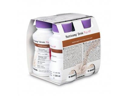 3571710 Nutricomp Drink Plus HP 4x200 ml chocolate nougat 1574939201695