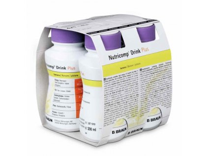 3571010 Nutricomp Drink Plus 4x200 ml banana 1574929635433
