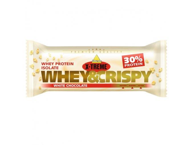 X-treme Whey crispy bílá čokoláda 50g